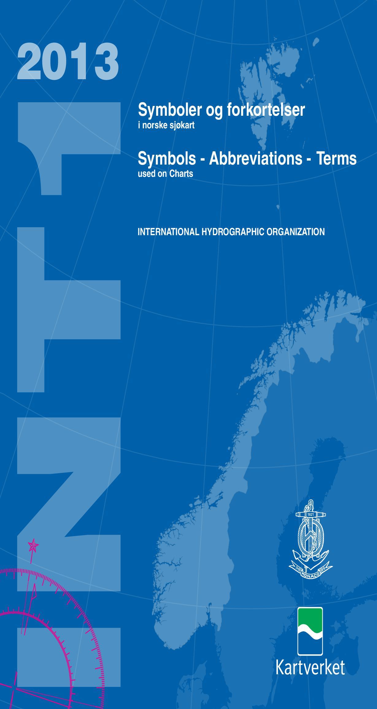Symboler og forkortelser i norske sjøkart