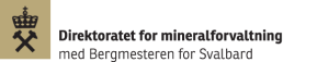 Logo Direktoratet for mineralforvaltning